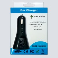 QUICK -CAR CHARGER 18W