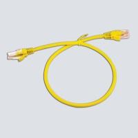 UTP cat6e 0,5m Yellow