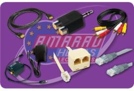 (11) A/V CABLES - ADAPTORS - A/V CONVERTERS - UTP CABLES - PHONE - LAN ADAPTORS