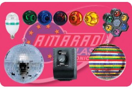 (13) DISCO LIGHTS-EFFECT DISCOBALLS FOR PARTY