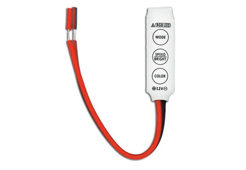 MINI-CONTROLLER-DIMMER RGB 12A