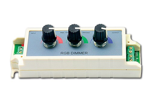 WALL-LED RGB DIMMER 9A