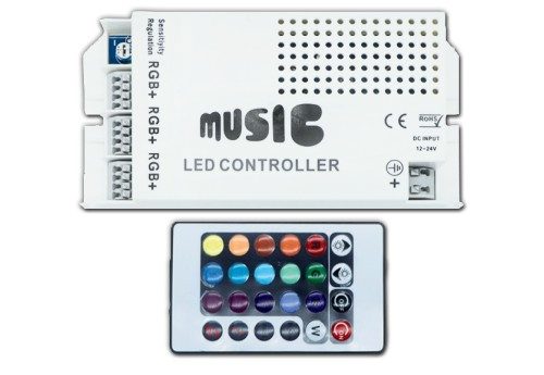 RGB  MUSIC SOUND CONTROLLER DIMMER-2