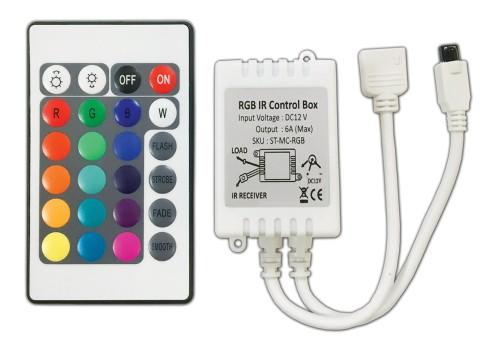 IR-RGB CONTROLLER DIMMER 6A